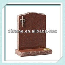 Red Granite headstone(UK style )