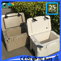 Cooler Ice Chest Tailgating Camping Fish Food Cooler on Picnic