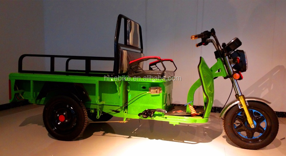Battery powered three wheels cargo tricycles/three wheel motorcycle/cargo cyclomotor/tuk tuk/bajaj/rickshaw 11000019