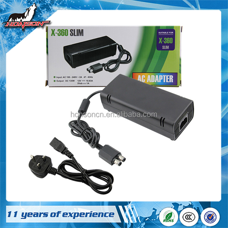 China Wholesale Accessory AC Adapter For xbox360 Slim Console (UK)