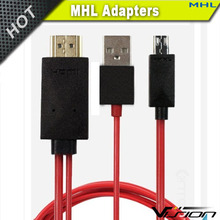MHL Cable Micro USB to HDMI out Connector Cord 1080P HD TV MHL Adapter Converter