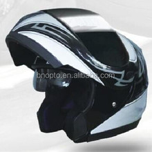 flip up motorcycle helmet with double viso