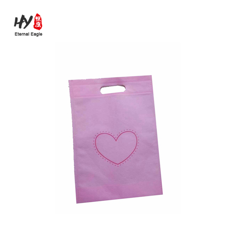 Colorful different pattern non-woven shopping bag