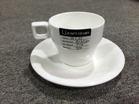 ZYC45 China Stocked Cheap square Ceramic cup,Popular Ceramic Cup And Saucer