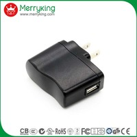home usb charging efficiency VI 5v 0.5a 1a 1.5a 2a ac dc usb wall charger power adapter
