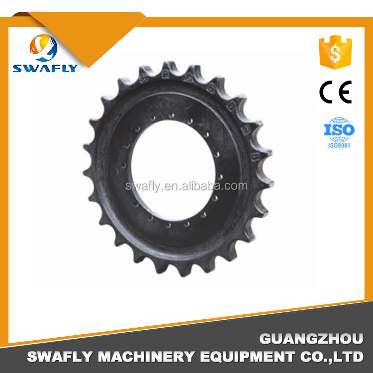 Excavator Undercarriage Parts PC60-5 Drive Sprocket, 201-27-41110