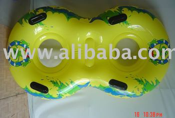 inflatables double water park rings,inflatable water park double rings,inflatable water park slide double ring