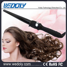 New Fashion Salon Digital Display Rubber Handle Hair Curler