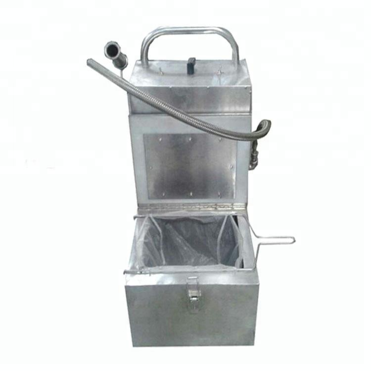 Commercial Deep Fryer Cooking Oil Filter Machine