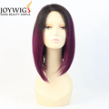 Best factory 10A grade two tone Color silk straight Indian Human Hair full lace Wig