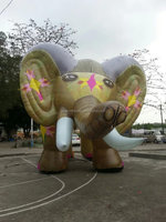Customized Giant Inflatable Elephant, Large Inflatable Animals