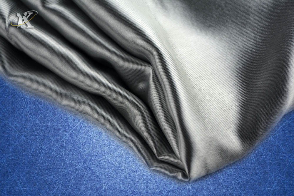 Wholesale Polyester Shiny Blackout Curtain Fabric