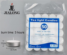 tea light candles burn time 3 hours T light candle