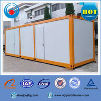 prefab container homes,flat pack prefab container house, foldable container house for sale