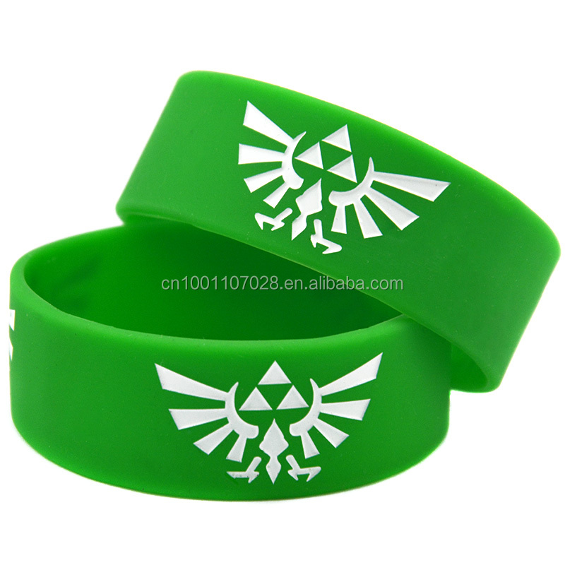 Promo Gift New Arrive The Legend Of Zelda Silicone Wristband Bracelet