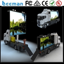 vehicle &truck led display 2015 Leeman LED Motorcycle billboard