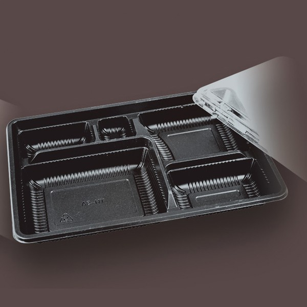 High quality disposable microwave pp food tray