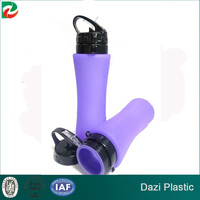gold supplier supplier wholesale new design plastic foldable bpa free water bottles