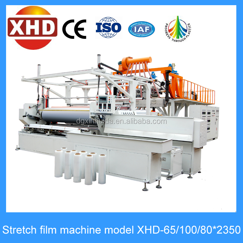jumbo roll casting stretch film extrusion line