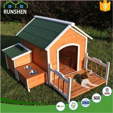 Flat And Waterproof Roof Customed Wooden Dog House