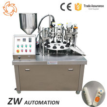 Margarine Mayonnaise Food Fill Pipe Sealing Machine