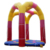 Funny crazy theme park inflatable bungee jumping trampoline for adult kids