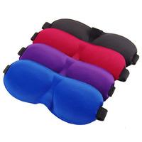 Personalized neoprene funny 3D travel rest sleeping eye mask wholesale