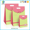 2015 New Fancy Wholesale Satin Handle Blossom Flap Gift Bags