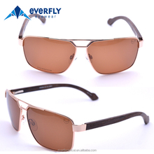 mens sunglasses 2017 popular eco-friendly handmade custom fashion men wooden temple sunglasses polarized