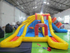 Multi shapes and colors commercial inflatable slide, giant inflatable slide