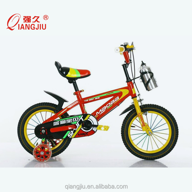 Chinese carbon steel frame sports bikes children bike with kettle for kids