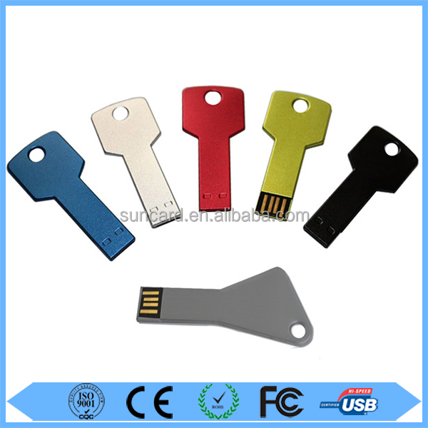 New innovation technology product 1gb key shape pen drive