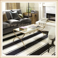 Morden furniture perspex chrome coffee table legs , glass coffee table