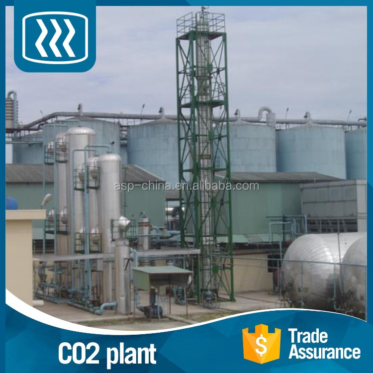 Made in china for sale high pure co2 recovery plant