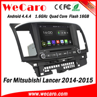 "Wecaro 8"" Android 4.4.4 car stereo 2 din for mitsubishi lancer with android radio gps 1080p 2014 2015"