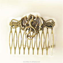 Dragon Hair Clip Fantasy Comb Hair Accessories Dragon Stocking Stuffer