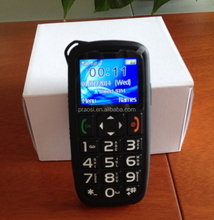 simple function senior gsm mobile with sos panic button easy use for old man