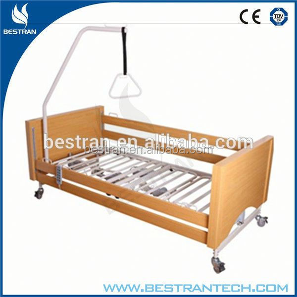BT-AE027 High quality wooden head/foot boards 5 function luxury home-care beds