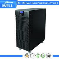 Data Center Online UPS 10KVA 8KW High Frequency Uninterrupted Power Supplies