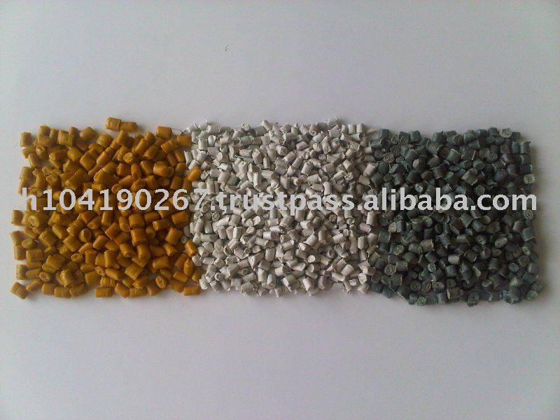 Recycle PP Granules (use as raw material of plastic product)