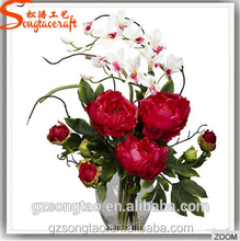 Hot Selling Artificial Flower Wedding Silk Peony Flower Wholesale for Wedding Decoration