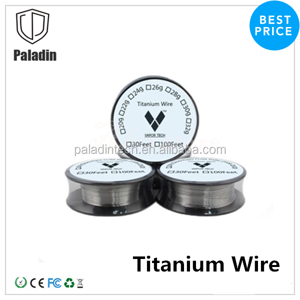 Original Vapor Tech titanium coil Titanium Wire for Temp Box Mod