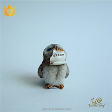 Wholesale Custom Decoration Craft Resin Handicraft Making Small Owl Statues