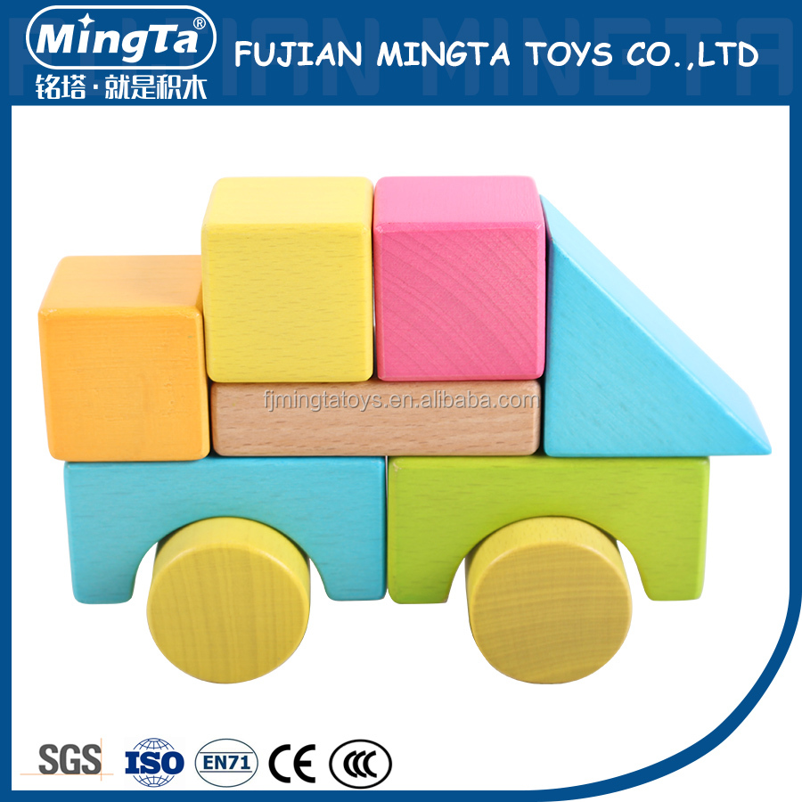 New Hot Cheap eco wooden building block toy
