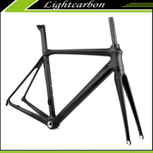 700C road bike chinese frames carbon bicycle STRONG design LCR002-V New ARRIVAL 2017 Lightcarbon