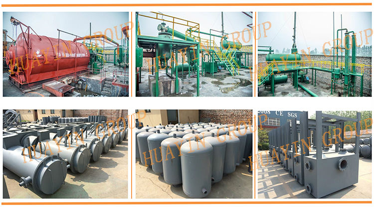 Plastic Pyrolysis Plant For PP PE OR Agriculture films