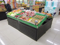 APEX custom make supermarket fresh fruit display rack
