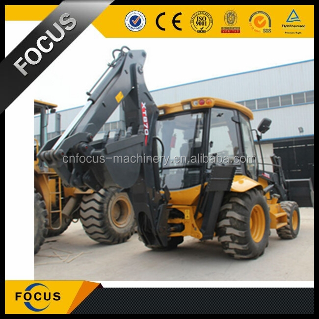XCMG loader XT870 1 m3 bucket loader backhoe