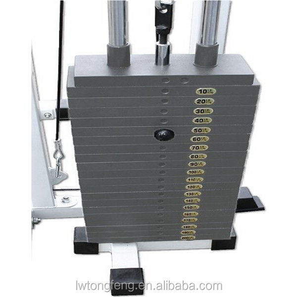 weight stack plate/body building gym equipment/spare parts for fitness equipment/crossfit