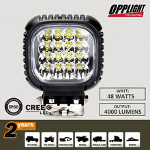 Small size 48W led worklight,cre e led worklight,led work lamp spot flood combo